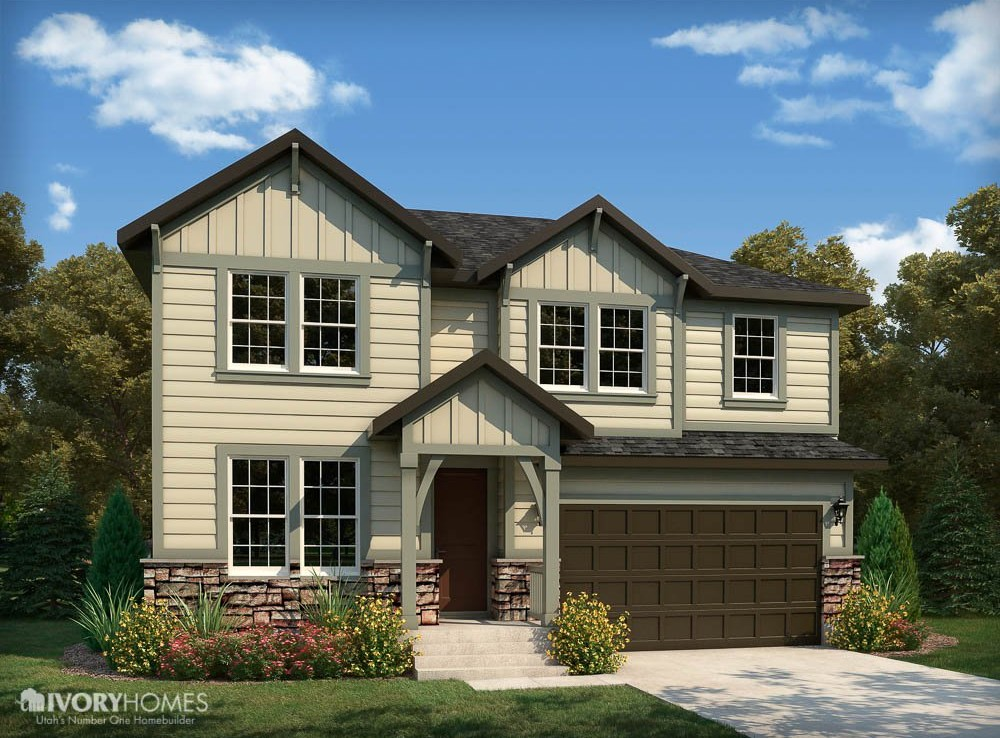 Briarwood Traditional Model By Ivory Homes New Homes Of Utah